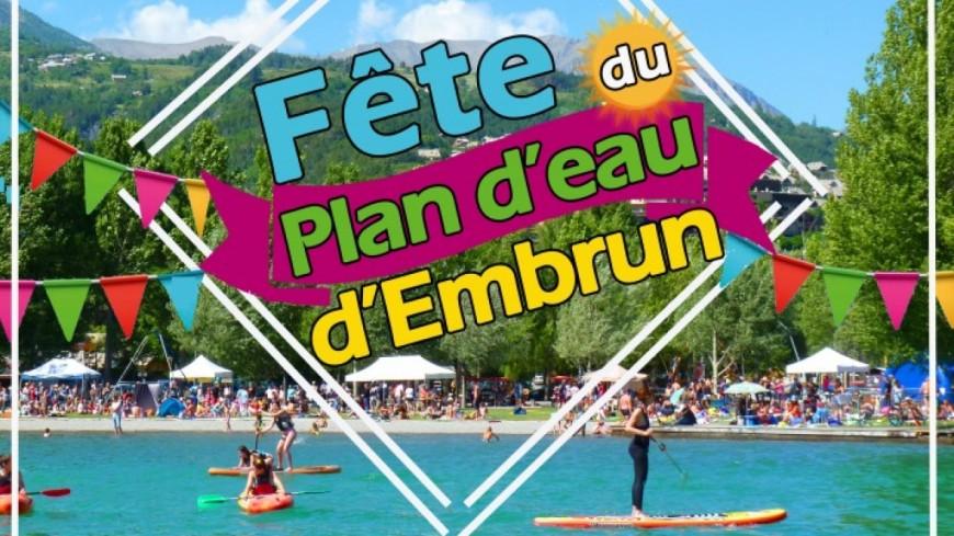 Hautes-Alpes : grande fête de l'été au Plan d'Eau d'Embrun