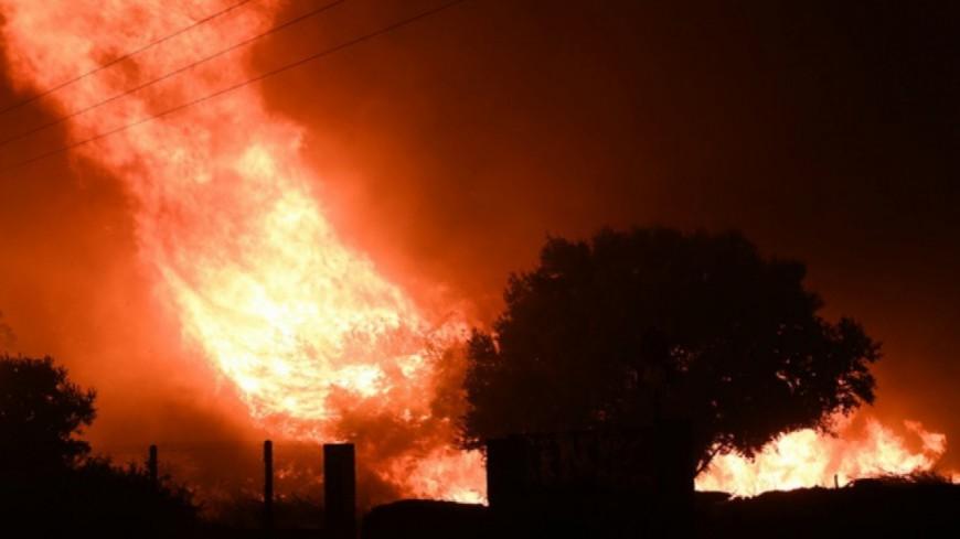 Important incendie à Moustiers-Sainte-Marie