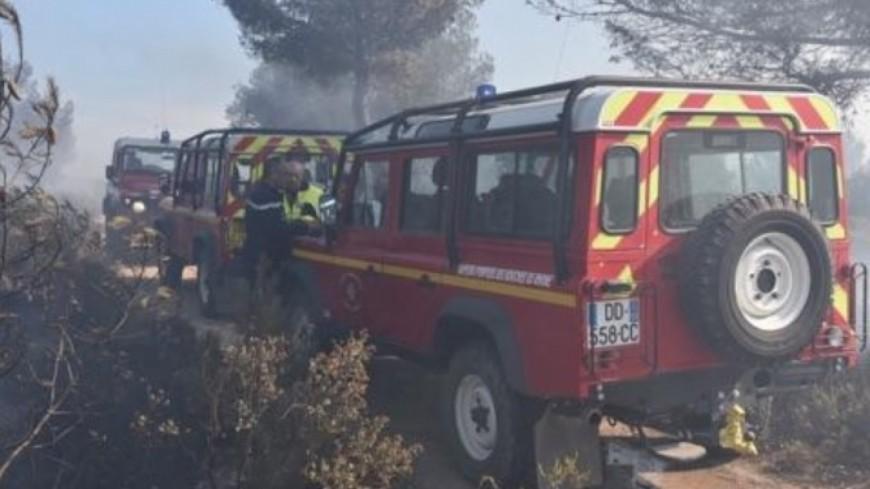[MAJ] Alpes du Sud : 60 pompiers en renfort dans les Bouches du Rhône