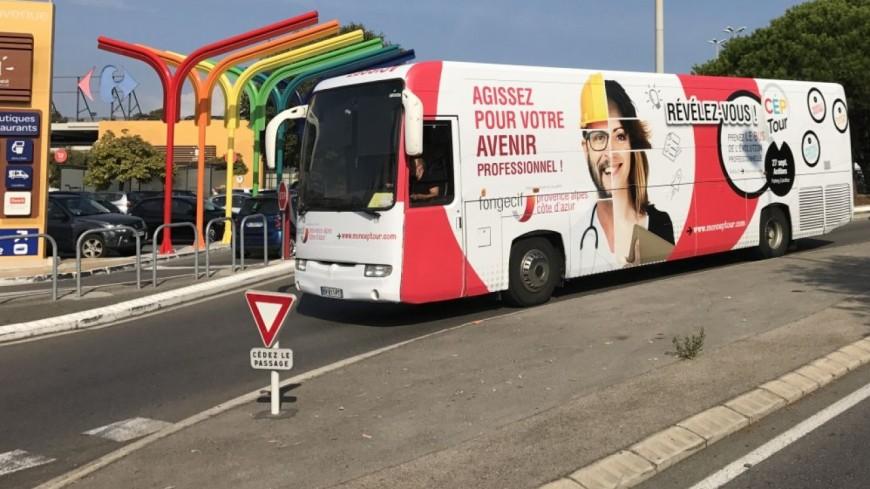 Alpes du Sud : un bus pour changer d'avenir professionnel