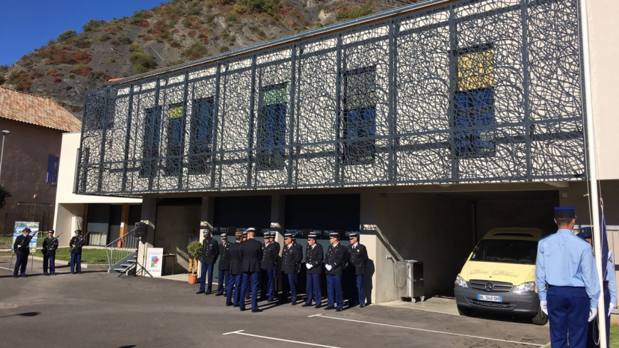 Hautes-Alpes : inauguration de la Gendarmerie de La Saulce