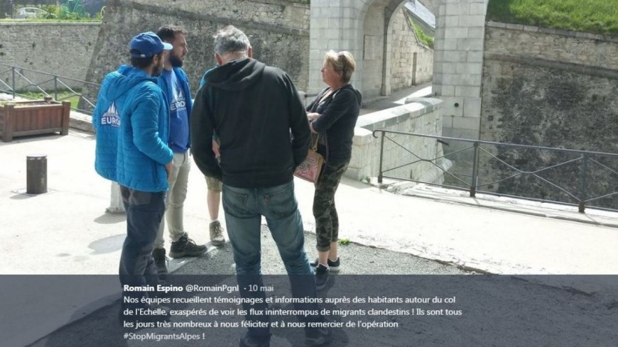 Hautes-Alpes : Génération Identitaire, Gérard Fromm affirme que ces activistes sont toujours là