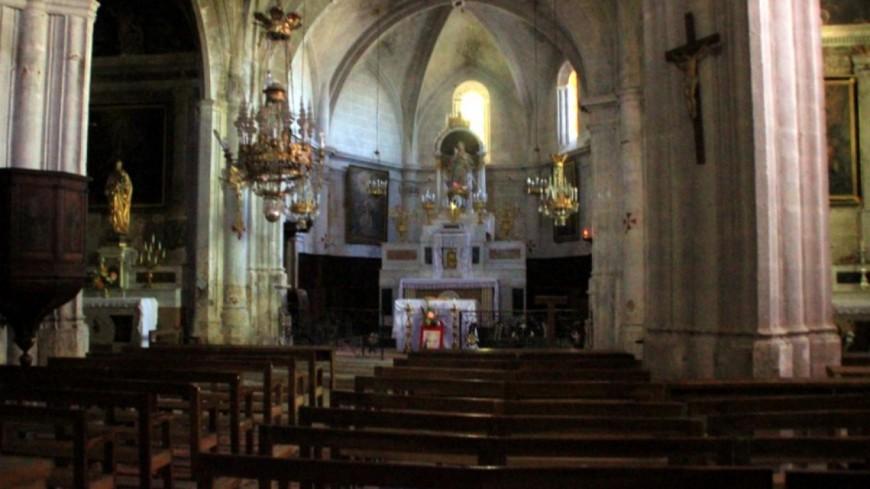 Alpes de Haute-Provence : un  buste datant du XVème siècle, volé dans l'église de Simiane-la-Rotonde