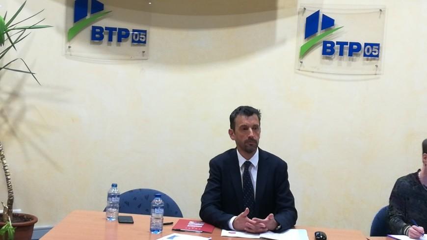 Hautes-Alpes : Stéphane Scarafagio réélu président du BTP 05