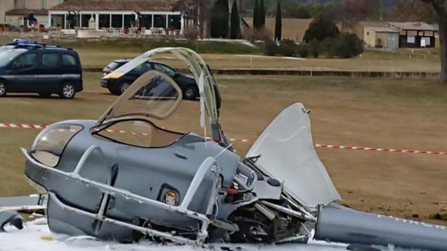 Alpes de Haute-Provence : un hélicoptère s'écrase à Pierrevert