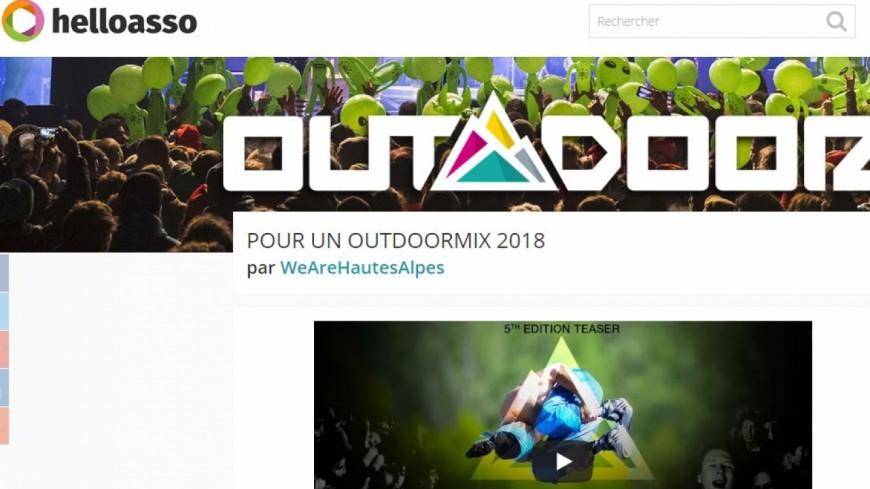 Hautes-Alpes : l'Outdoormix Festival veut continuer à exister