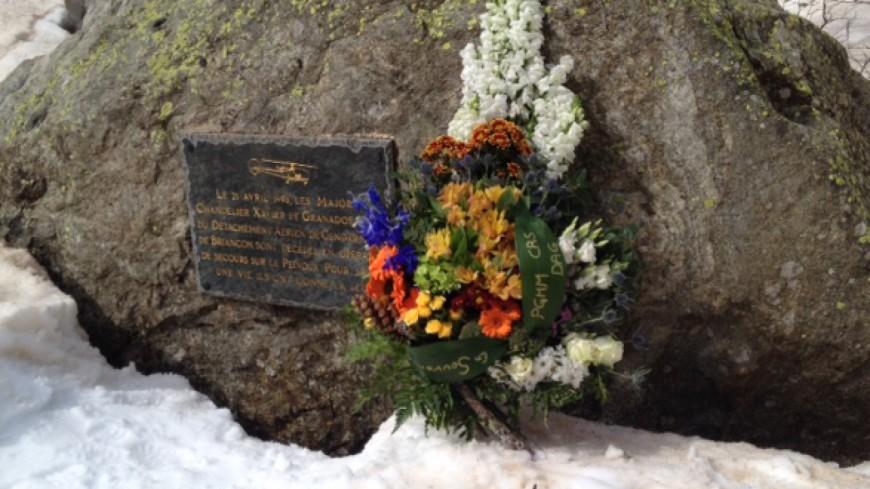 Hautes-Alpes : hommage, 20 ans après le crash d'un hélicoptère lors d'une opération de secours