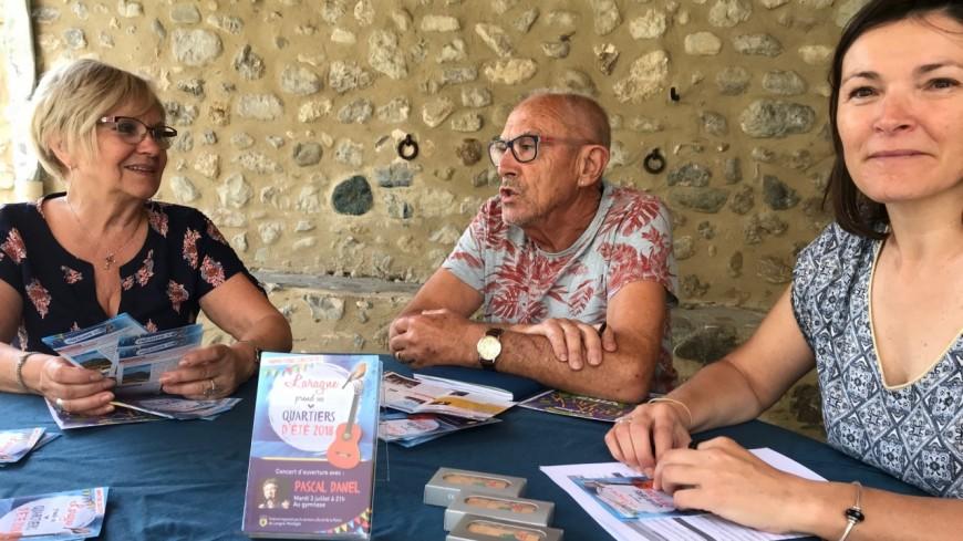 Hautes-Alpes : Laragne-Montéglin prend ses Quartiers d'Été