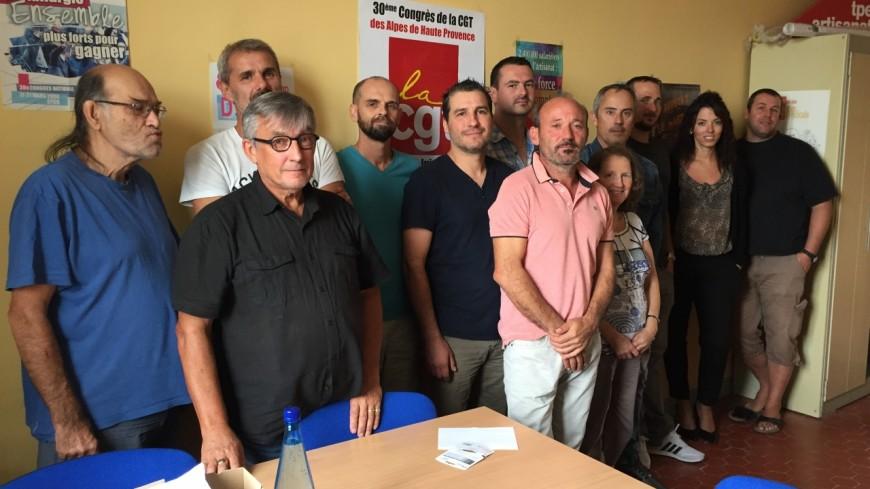 Alpes de Haute-Provence : l'Union locale CGT de Sisteron en ordre de bataille