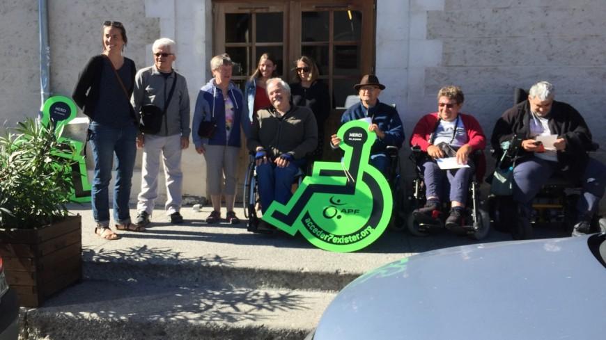 Hautes-Alpes : l'APF se mobilise pour dénoncer les problèmes d'accessibilité