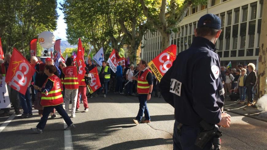 Alpes du Sud : des centaines de personnes à Digne et à Gap marchent contre le gouvernement