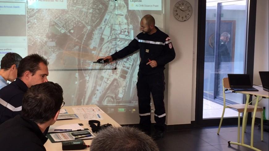 Alpes de Haute-Provence : tester la chaîne de sécurité en cas d'incident à Arkema