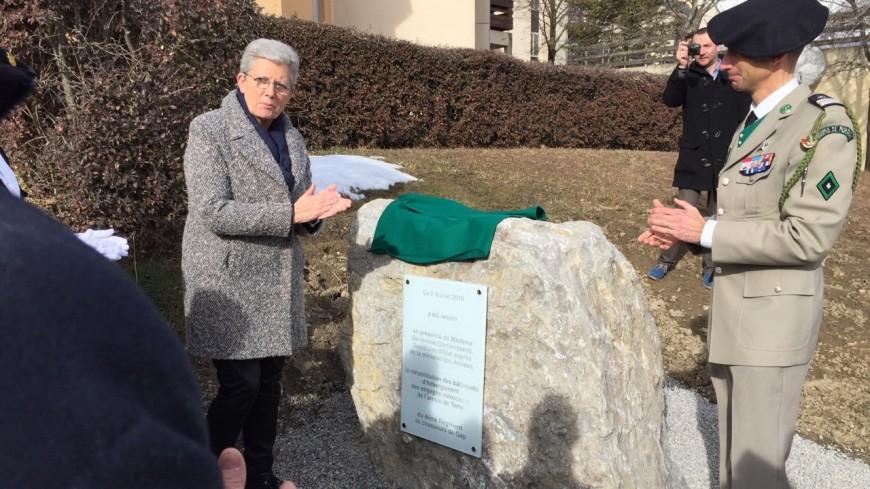 Hautes-Alpes : améliorer le quotidien des soldats, l'objectif de Geneviève Darrieussecq