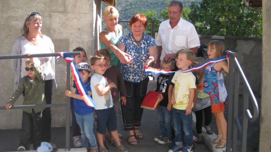 Hautes-Alpes : école de l'Église, les travaux d'accès inaugurés à l'Argentière la Bessée