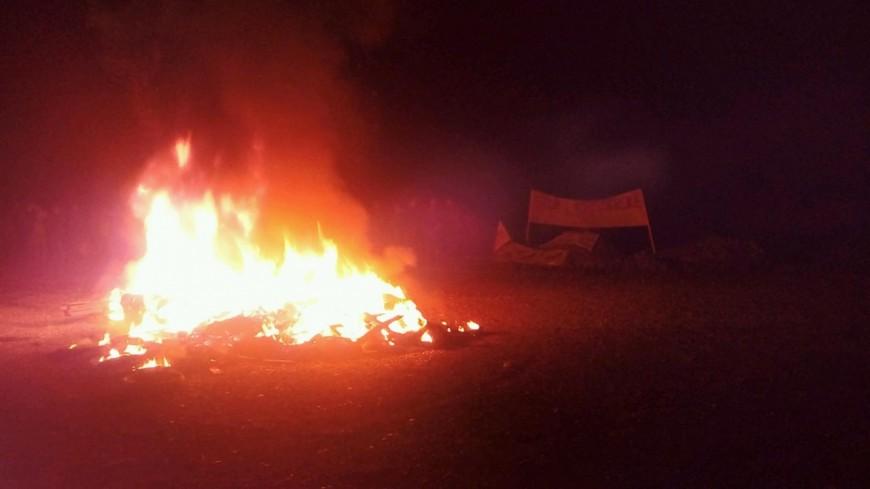 Hautes-Alpes : 90 agriculteurs autour du feu de solidarité à Gap Bayard