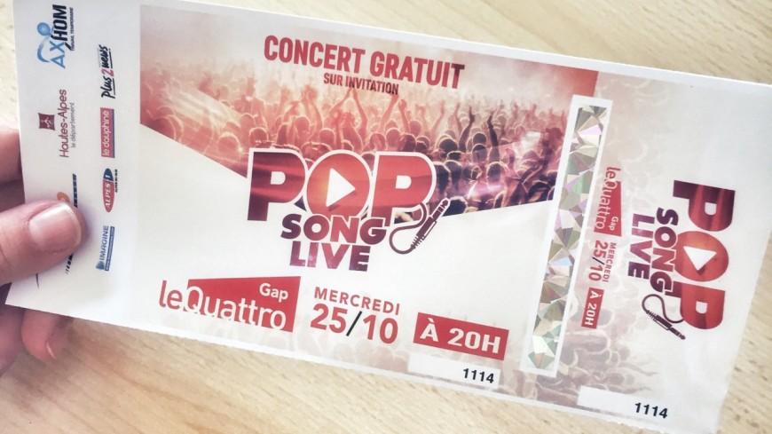 Alpes du Sud : le Pop Song Live, l'événement musical sans précédent débarque le 25 octobre