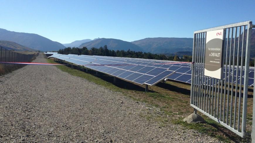 Hautes-Alpes : le photovoltaïque, énergie du lendemain pour Aspres sur Buëch