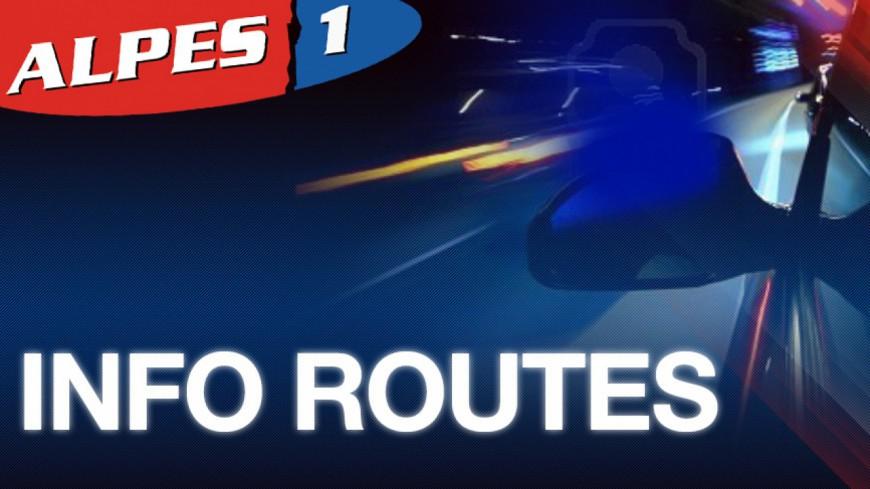 Alpes de Haute-Provence : la RD 107 à Prads Haute Bléone totalement fermée à la circulation