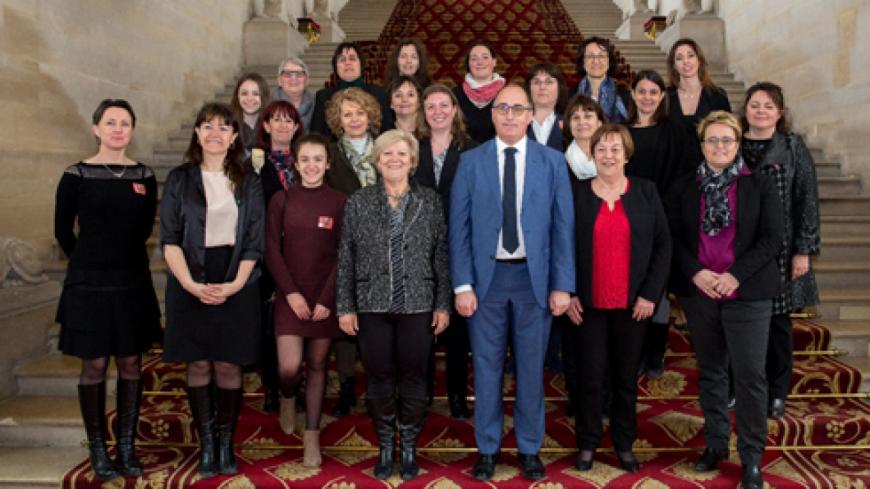 Alpes de Haute-Provence : J-Y Roux reçoit une délégation d'élues bas-alpines au Sénat