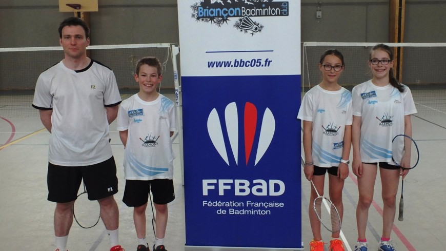 Hautes-Alpes: trois jeunes badistes briançonnais aux championnats de France