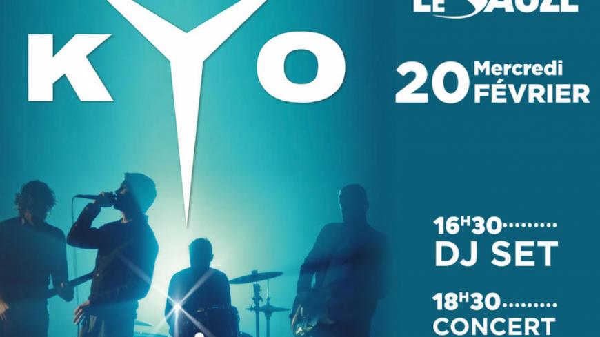 Alpes de Haute-Provence : Kyo en concert au Sauze