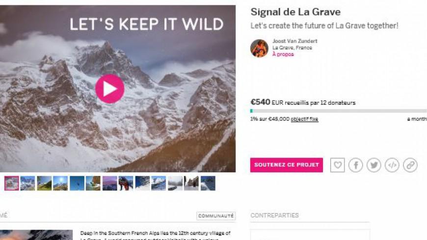 Hautes-Alpes : une campagne de financement participatif pour le téléphérique de La Grave
