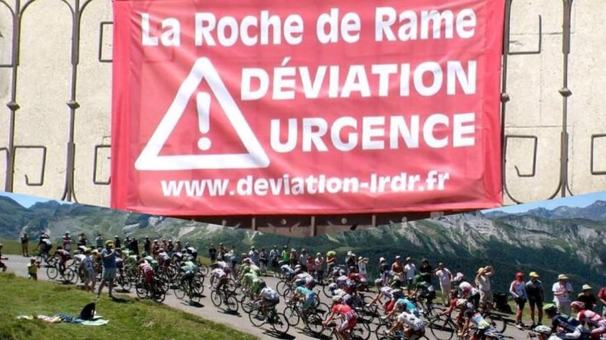 Hautes-Alpes : l'association pour la déviation de la Roche de Rame menace de blocage le Tour de France