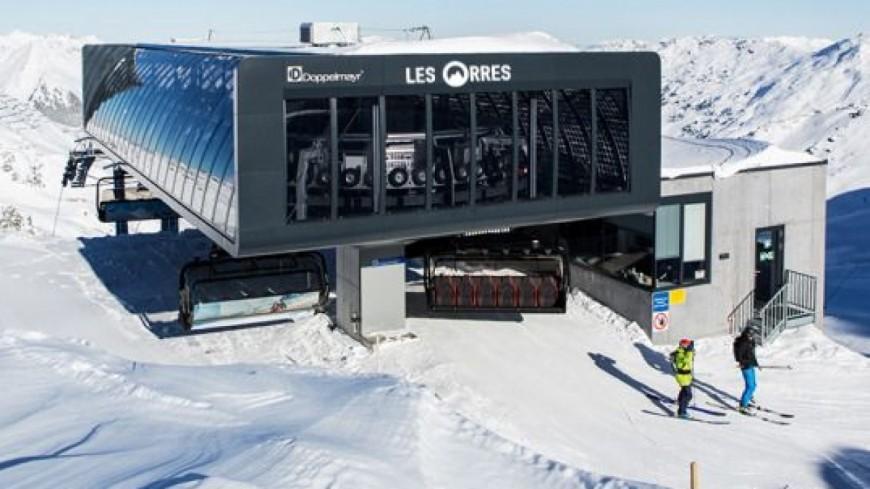 Hautes-Alpes : un nouveau télésiège pour Les Orres l'hiver prochain