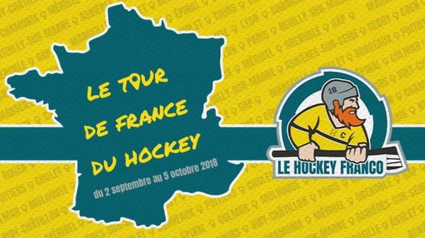 Hautes-Alpes : le tour de France du hockey passera par Gap