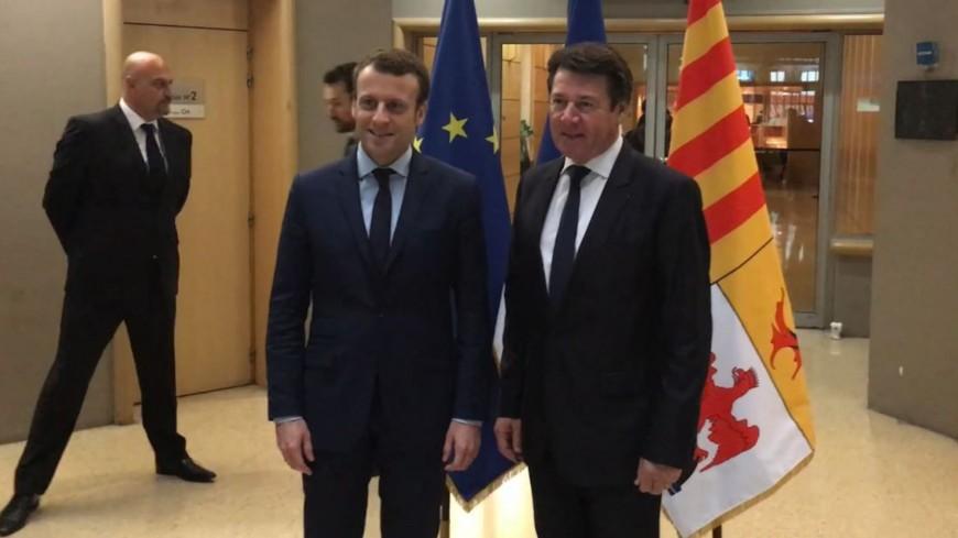 Région PACA : quand C.Estrosi reçoit E.Macron, prélude au front républicain ?