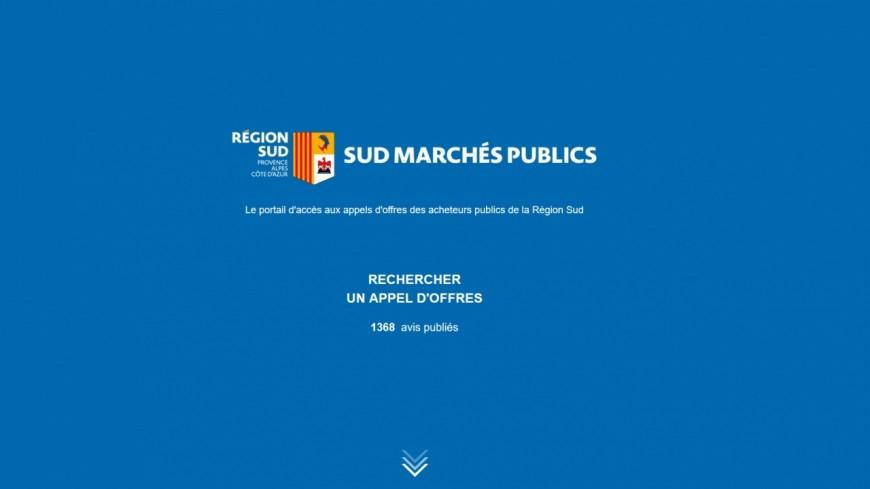 Région PACA : un seul site regroupe tous les appels d'offres des collectivités territoriales