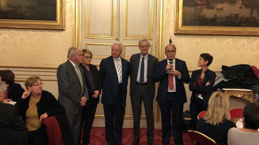 Alpes de Haute-Provence : Daniel Spagnou a reçu la médaille du Sénat