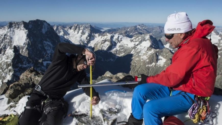 Hautes-Alpes : la Barre des Écrins dévoile enfin ses mesures