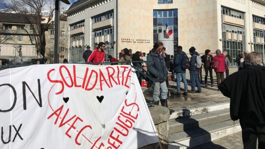 Hautes-Alpes : ils demandent plus d'hébergements pour les jeunes migrants