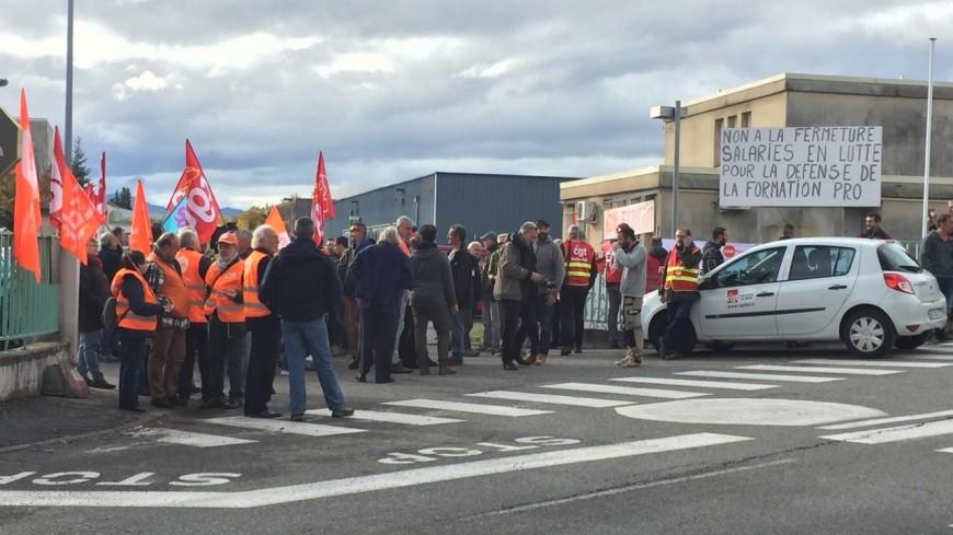 Hautes-Alpes : une centaine de mobilisés contre la fermeture de l'AFPA Gap