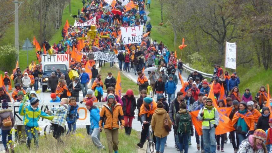 Hautes-Alpes : mobilisation anti THT à La Saulce, des manifestants en garde à vue