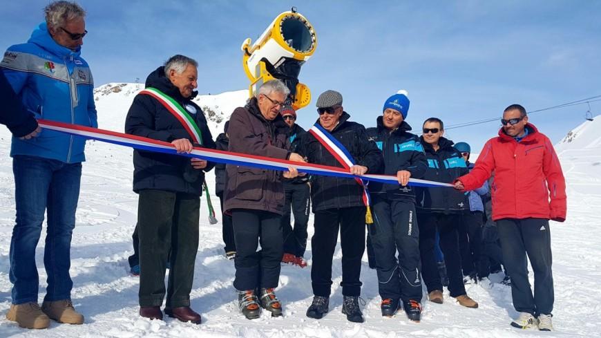Hautes-Alpes : Montgenèvre renforce son réseau de neige de culture