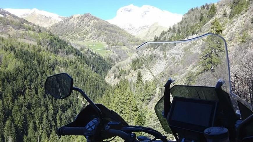 Alpes de Haute-Provence : Barcelonnette, le paradis des motards
