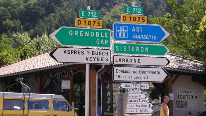 Hautes-Alpes : un vaste chantier débute sur la RD 1075