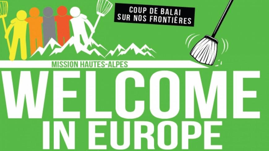 """Hautes-Alpes : """"Génération Solidaire"""", des militants pro-migrants investissent un col du Queyras"""