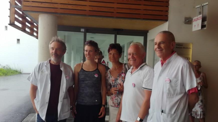 Hautes-Alpes : Laetitia Roux, la championne de ski alpinisme, sensibilise aux dons d'organes