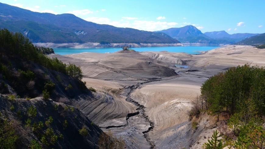 Lac Serre Poncon : Le lac de serre ponçon communauté de communes serre ponçon val d