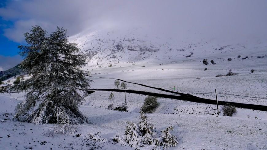 Hautes-Alpes : les Saints de Glace recouvrent de leur manteau blanc