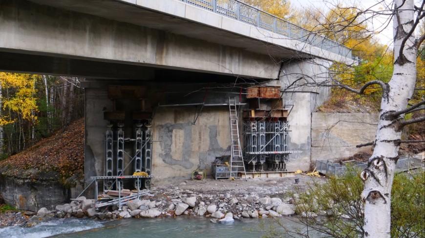 Hautes-Alpes : travaux de maintenance sur le pont de Chagne