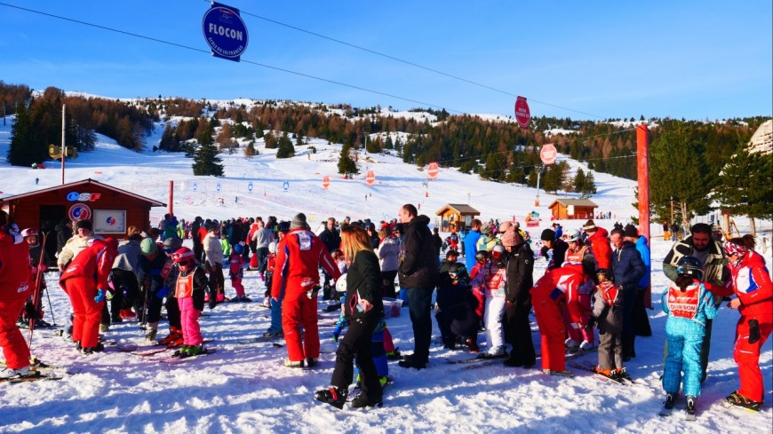 Hautes-Alpes : Superdévoluy, bon démarrage pour les vacances