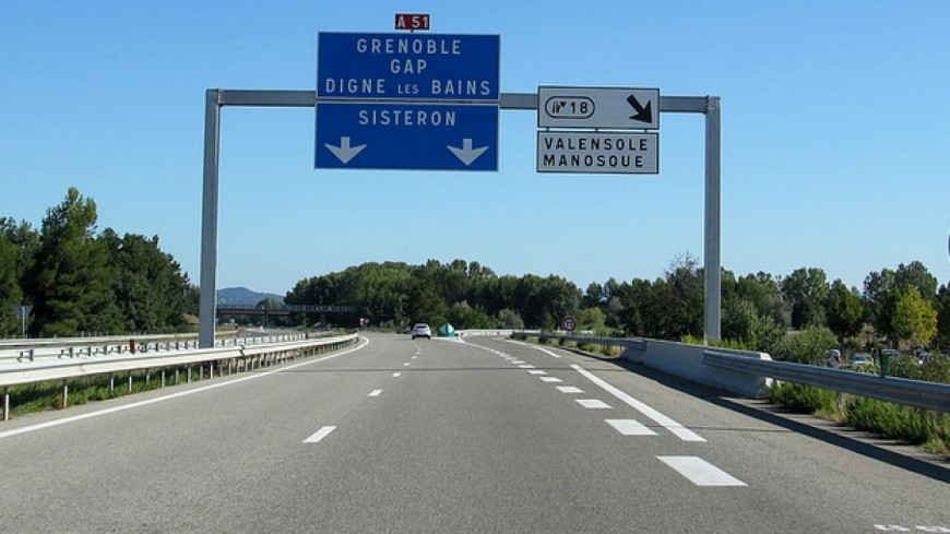 Alpes du Sud : perturbation sur l'A51 dans la nuit de mardi à mercredi