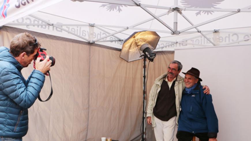 Hautes-Alpes : plus de 130 personnes sont venues se faire tirer le portrait à Briançon
