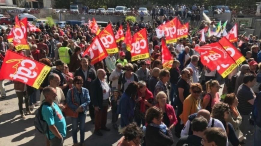 Alpes du Sud : les retraités vont manifester à Gap et Digne-les-Bains ce jeudi