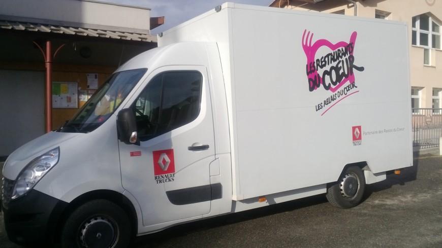 Hautes-Alpes : des camions des Restos pour aller à la rencontre de ceux qui ne peuvent se déplacer