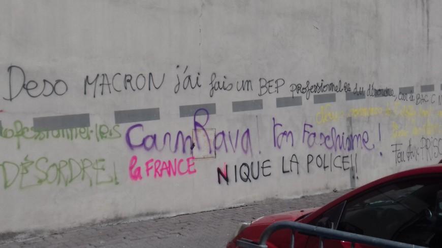 Hautes-Alpes : dégradations lors de la manifestation à Gap, Les Républicains tapent dur